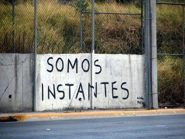 somos instantes  #paredes #streetart