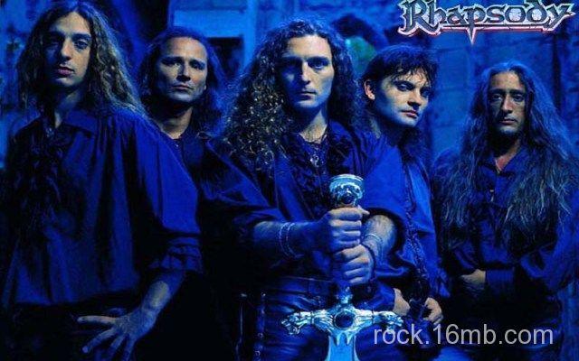 История группы Rhapsody of Fire, информация о группе Rhapsody of Fire, дискография группы Rhapsody of Fire, скачать альбомы Rhapsody of Fire