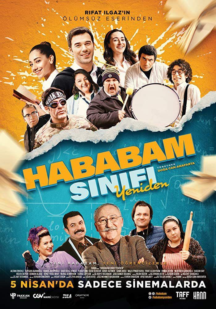 Hababam Sinifi Yeniden 1080p Izle Film Izleme Komedi Filmleri