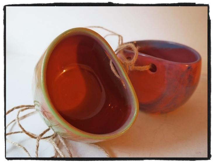 small earthenware pots