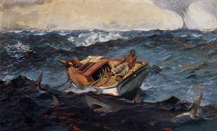 'Der Golfstrom', 1906 von Winslow Homer (1836-1910, United States)