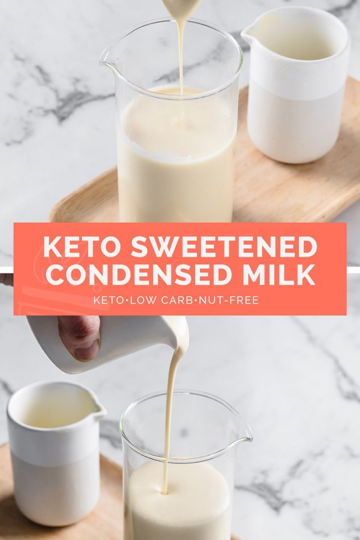 Keto Sweetened Condensed Milk Recipe Keto Nut Free Sugar Free Recipe In 2020 Condensed Milk Recipes Milk Recipes Sweetened Condensed Milk Recipes