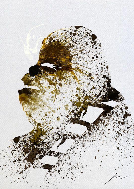 #Chewbacca #Painting #StarWars