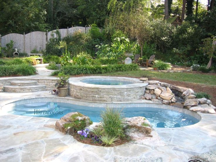 Attached Swimming Pool : Best images about spools on pinterest fire pits