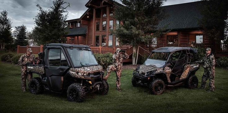 New 2016 Can-Am Defender XT™ HD10 ATVs For Sale in Louisiana. The Defender XT comes equipped with many factory-installed accessories including 27 inch Maxxis Bighorn 2.0 tires mounted on 14 inch wheels and Dynamic Power Steering for better handling and steering. Dimensions: - Wheelbase: 83 in. (211.5 cm) Operational: - Shocks: Twin tube gas charged shocks