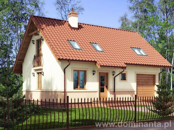 Energooszczędne domy to przyszłość budownictwa. Projekt Rusałka pochodzi z pracowni http://www.dominanta.pl/