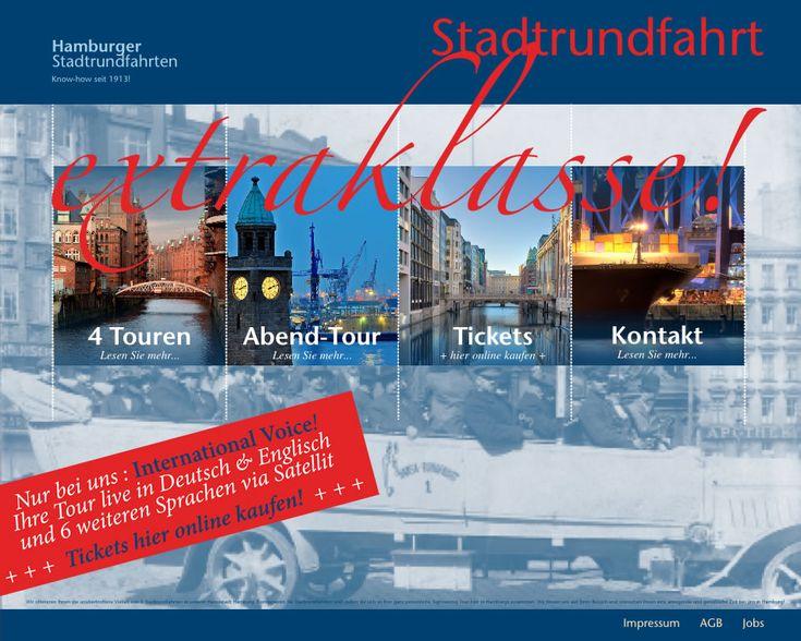 Stadtrundfahrt Hamburg - Toptour