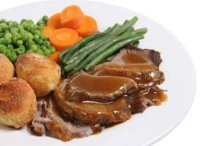Roast Lamb and vegies