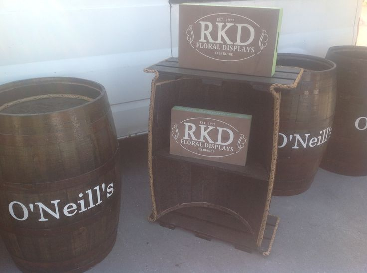 Barrels for you by RKD Floral Displays