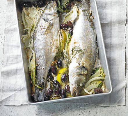 Cook your fish Italian-style with this simple recipe - just six ingredients, but full of Mediterranean flavour