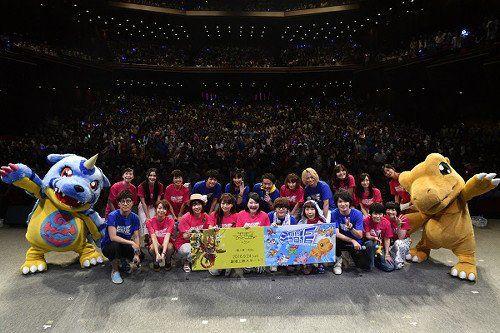 Digimon adventure festival 2016 @bluecttncndy