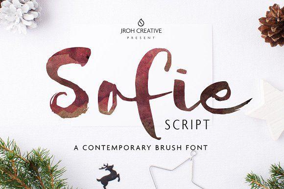 Sofie Script by JROH Creative on @creativemarket