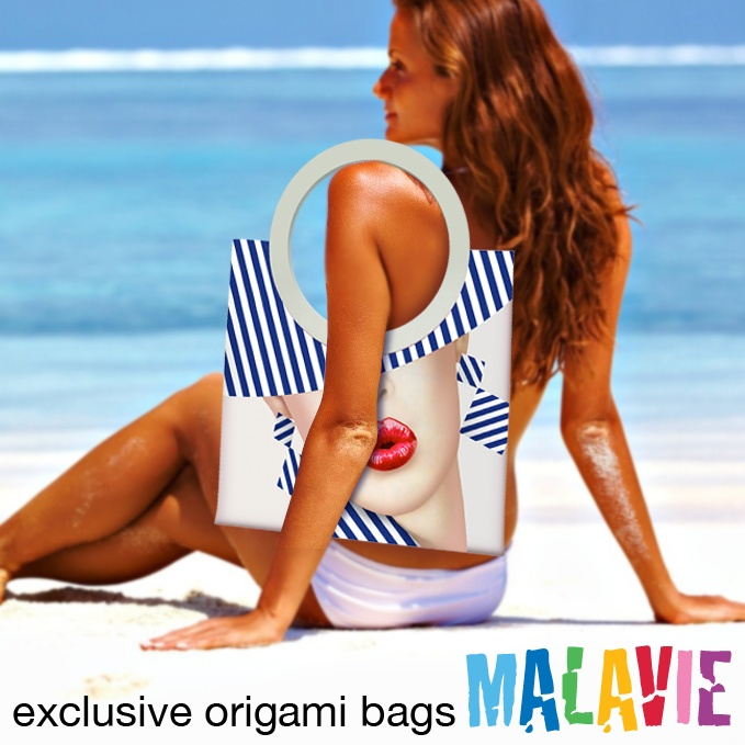 Originali e Fantastiche Borse Mare fatte a mano e totalmente senza cuciture..  Original & Fantastic Beach Bags handmade and totally seamless..  GoTo:    http://www.kokakola.it/malavie/big.asp