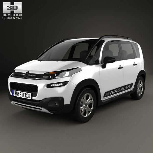 Citroen C3 Airсross 2015 3d model from Humster3D.com.