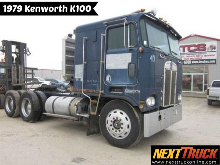 #ThrowbackThursday Check out this 1979 Kenworth K100. View more #Kenworth #Trucks at http://www.nexttruckonline.com/trucks-for-sale/by-make/Kenworth #Trucking #NextTruck #tbt