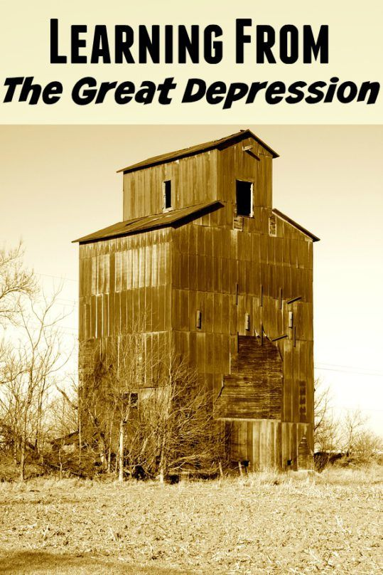 Learn how they made do! I have so much respect for those that went through The Great Depression. They came through it stronger and with so much wisdom.