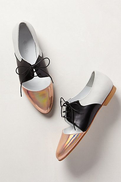 Rose-Capped Oxfords #anthropologie