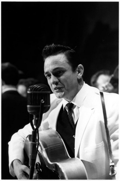 Johnny Cash..Can you ever get tired of hearing Folsom Prison Blues?