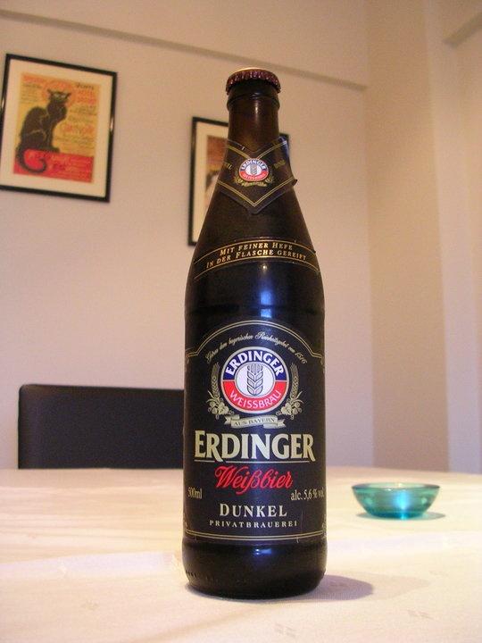 Erdinger Beer.