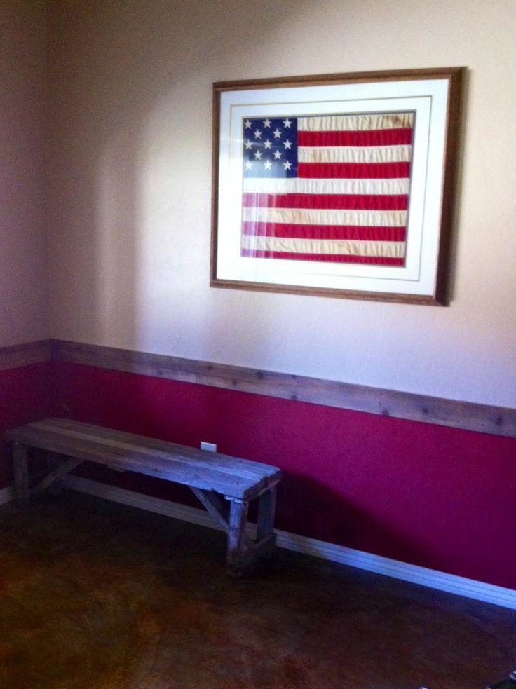 fine barn wood chair rail 14