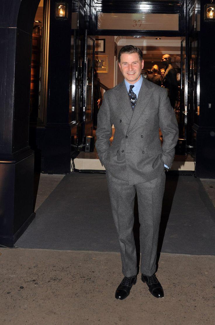 The British look.  Jeremy Hackett.