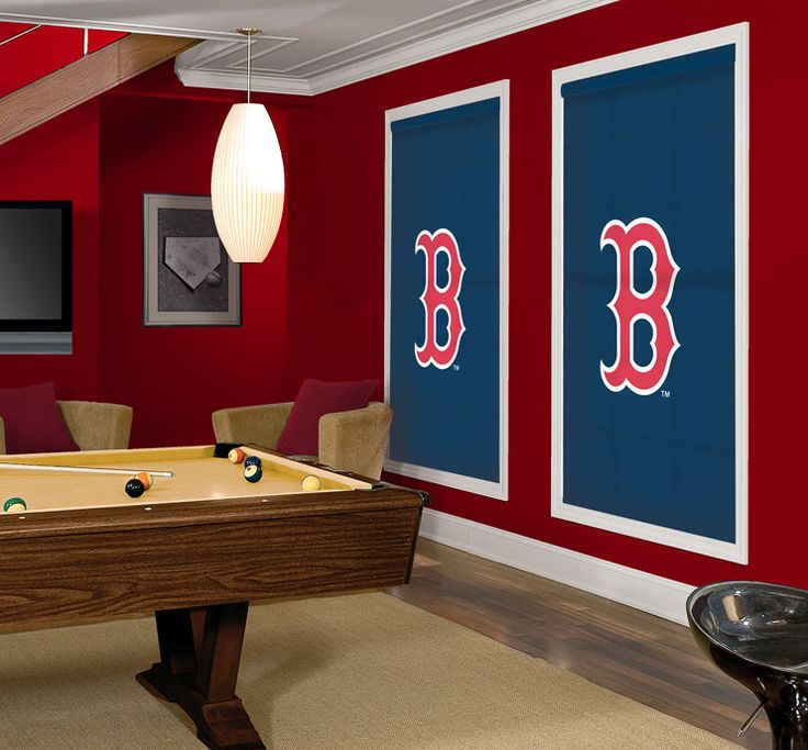 21 best images about kids bedroom paint on pinterest for Boston red sox bedroom ideas