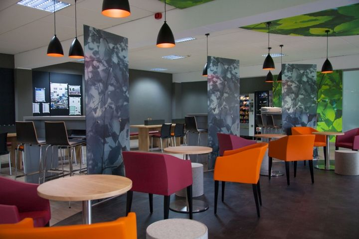 Canteen wnt restaurant by kitzig interior design architecture group kempten germany