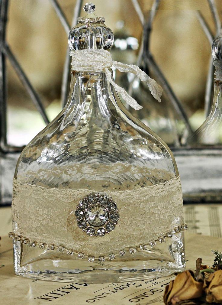 Shabby Sweet Cottage: Altered Bottles
