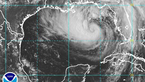 Tropical Storm Isaac - The center of Tropical Storm Isaac's projected path took it directly toward New Orleans for a projected landfall as early as Tuesday night, nearly seven years to the day after Hurricane Katrina devastated the city.  At 8 p.m. Monday, the National Hurricane Center reported that Isaac's top sustained winds had remained at 70 mph for several hours, up from about 65 mph the evening before. A tropical system becomes a Category 1 hurricane once winds reach 74 mph
