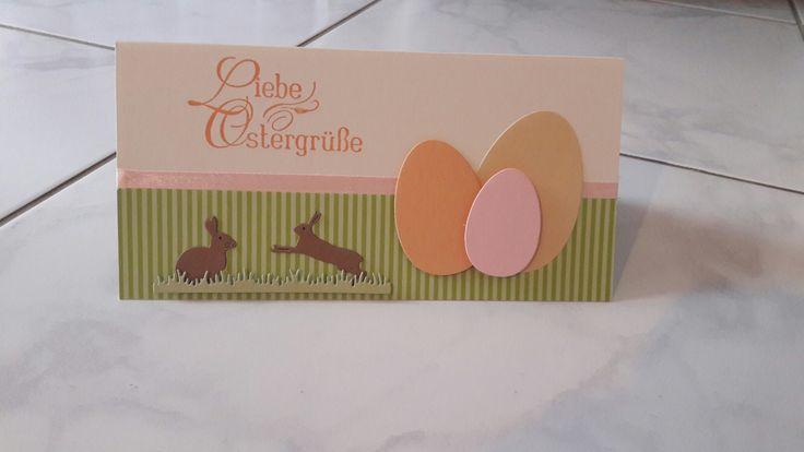Frohe Ostern stampin up Ostergrüße