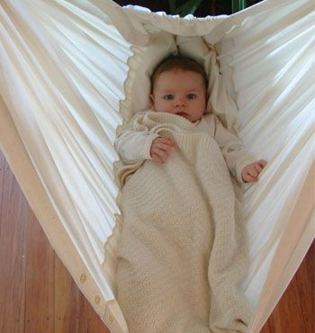 Image result for nursery with baby hammock