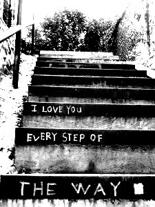 Every step of the way!