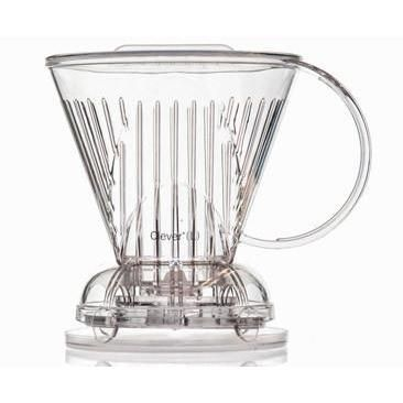 Clever Coffee Dripper (Clear) (Plastic)
