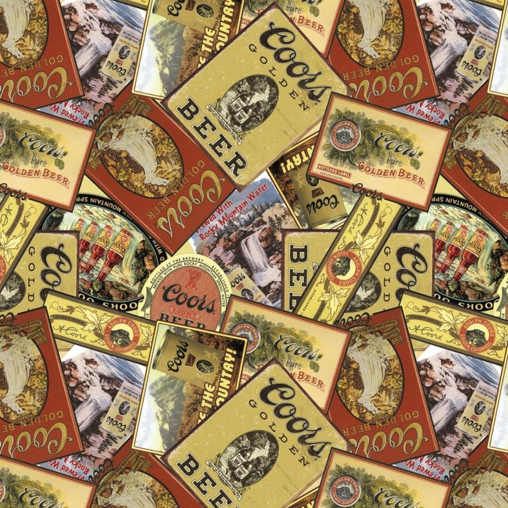 Funky Monkey Fabrics Inc. - Coors - 1/2 yard, $5.00 (https://funkymonkeyfabrics.com/coors-1-2-yard/)