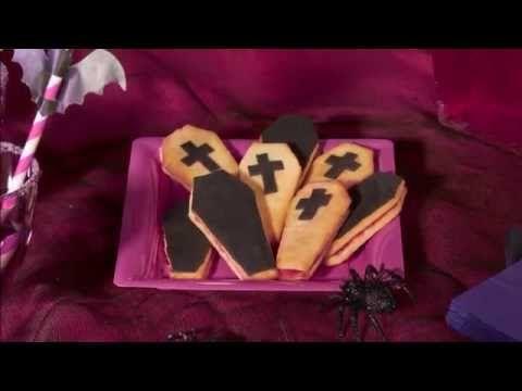 Halloween recept idee voor Chica Vampiro doodskist koekjes - Vegaoo.nl
