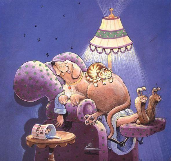 Иллюстрации Gary Patterson