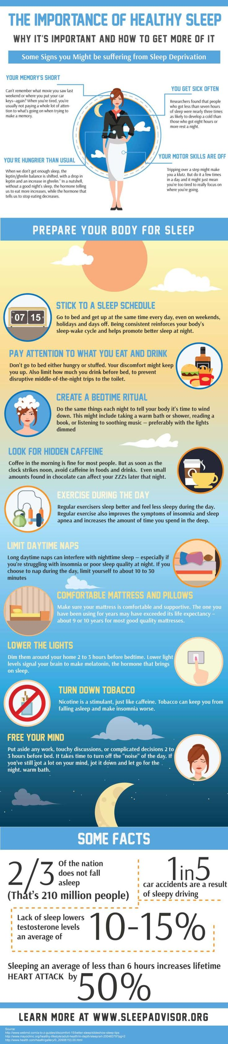 Mejores 2120 imgenes de infographics en pinterest infografas importance of healthy sleep and how to get more of it httpswww malvernweather Choice Image