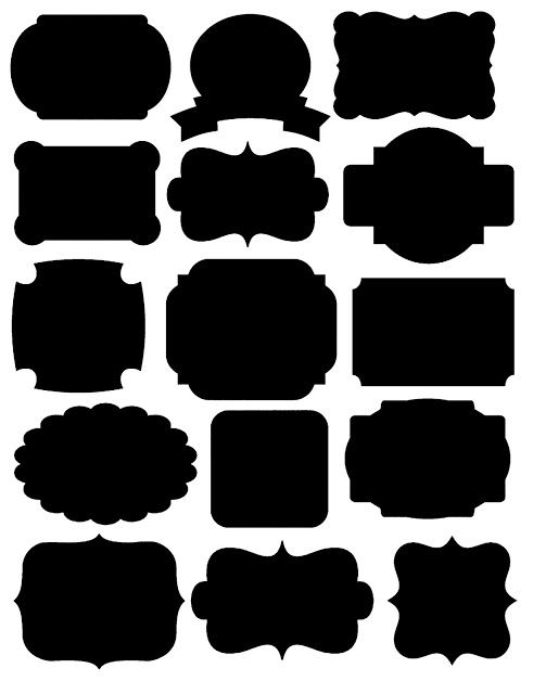 Doodlecraft: Freebies! Printables Labels and Chalkboard Fonts!