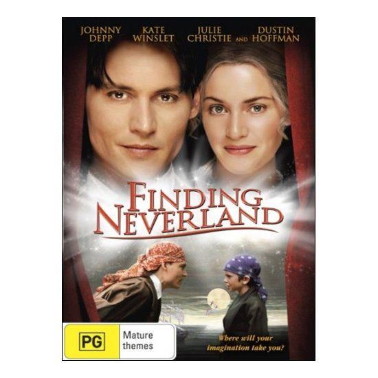 Finding Neverland DVD  - Johnny Depp