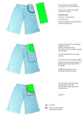 MAJAS HOBBYKROK: Hvordan sy lommer i bukser.