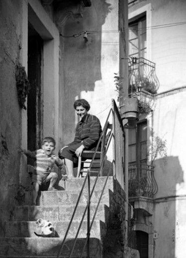 L'Italia 1952 in bianco e nero nelle foto di Cuchi White