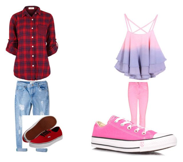 """Tomboy vs girly girl"" by thenumberone on Polyvore"