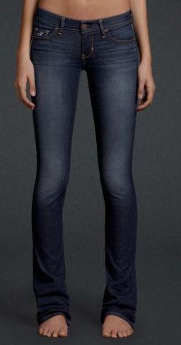 Hollister Boot Cut Dark Wash Jeans.. That's mine