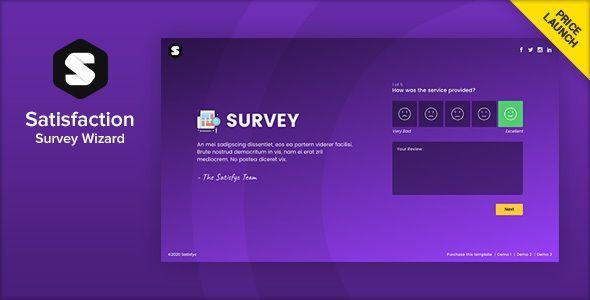 Satisfyc Satisfaction Survey Form Wizard In 2020
