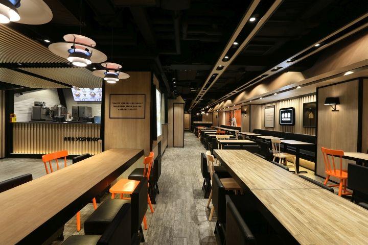 Yoshinoya Fast Food Restaurant by AS Design Service, Hong Kong