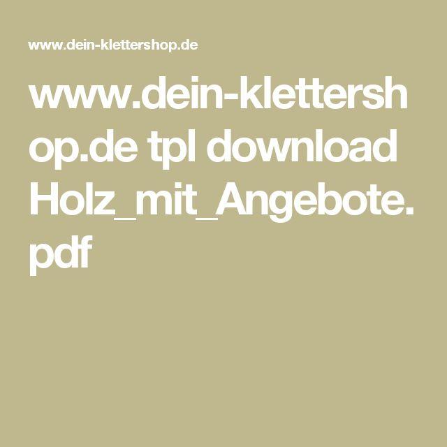 www.dein-klettershop.de tpl download Holz_mit_Angebote.pdf