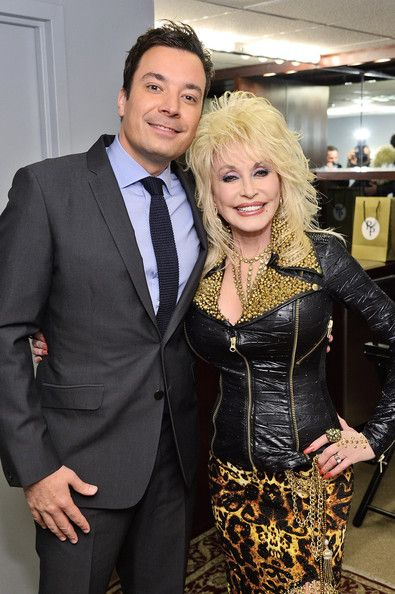 | Jimmy Fallon and Dolly Parton - Dolly Parton Promotes Her New Album