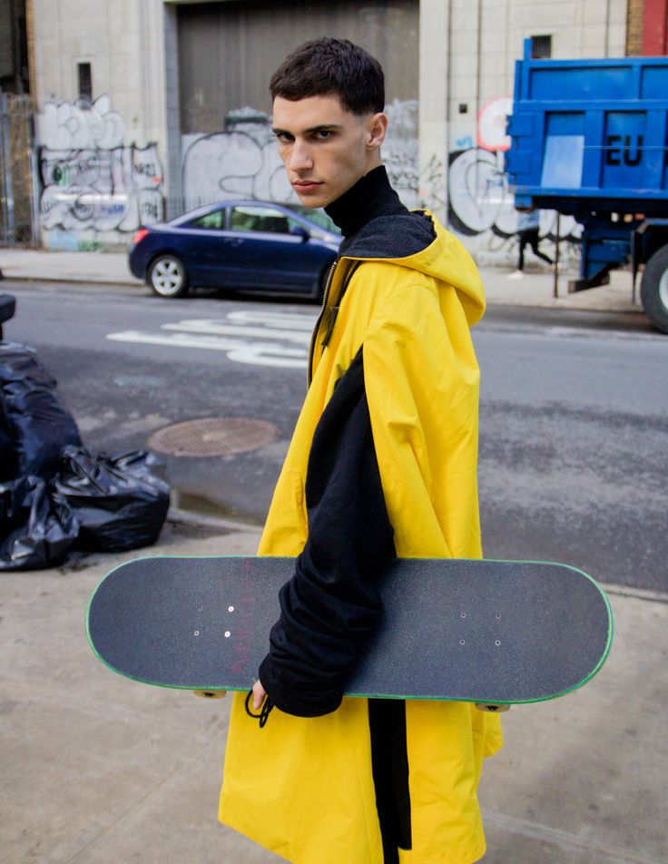 Jeremie Egiazarian at D1 Models NY, photographed by Jae Foo and styled by Joaquin Gregorio with pieces from Feng Chen Wang, ikumi, Anton Belinskiy,Kye, Ottolinger and Lucid FC, in exclusive for Fucking Young! Online.