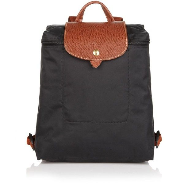 Longchamp Le Pliage Backpack ($125) ❤ liked on Polyvore featuring bags, backpacks, accessories, malas, longchamp bag, longchamp rucksack, day pack backpack, nylon bag and rucksack bags
