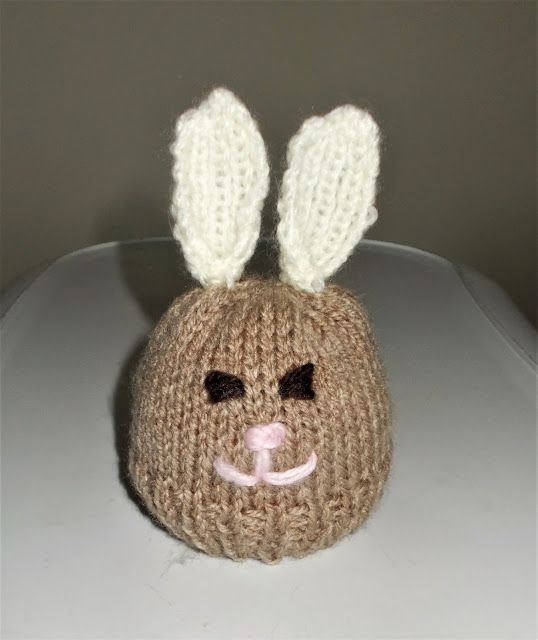 224 best easter images on pinterest knit patterns knitting chocolate orange easter bunny chocolate orange bunny dk yarn knitting needles using brown cast on negle Gallery